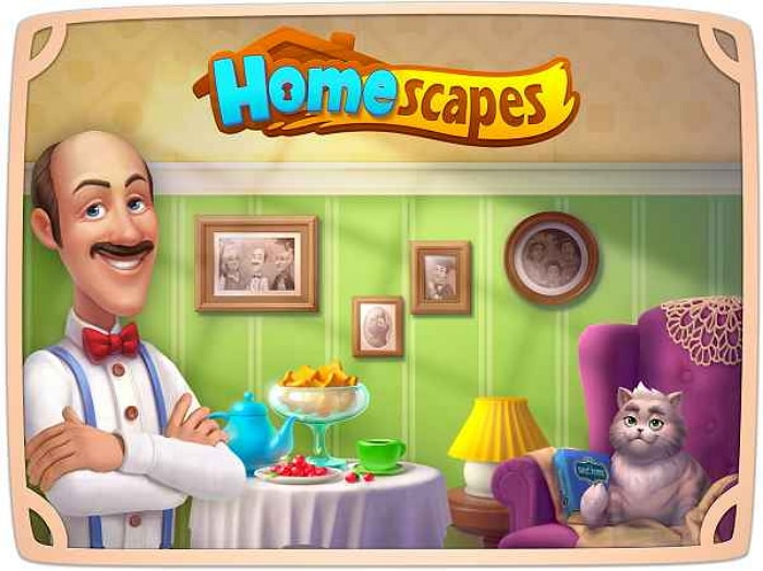 Игра на Адроид Homescapes