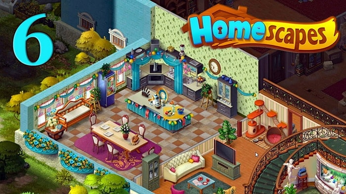 Игра на Андроид - Homescapes